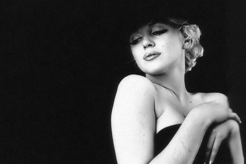 Marilyn Monroe Wallpaper Black And White 14907 Full HD Wallpaper .