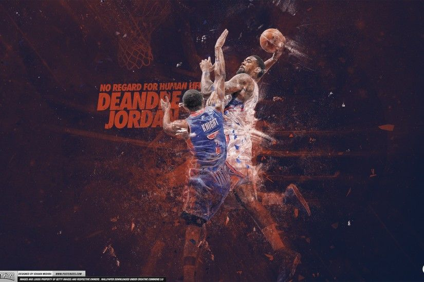 DeAndre Jordan – 'Dre N Knight' (WALLPAPER)