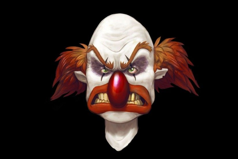 Images For > Evil Clown Wallpaper Hd