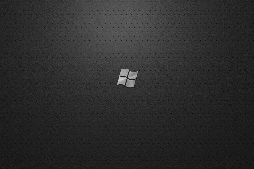Windows Black Pattern Wallpapers