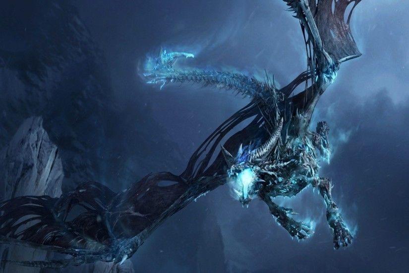 Preview wallpaper dragon, fly, jaws, rocks, night 1920x1080