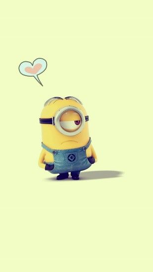 adorable Despicable Me minion apple iphone 6 plus wallpaper HD for 2014  Halloween #2014 #