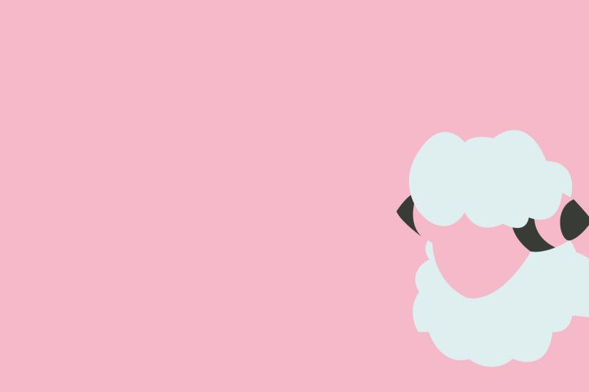 Ash character Flaaffy Pokemon pink simple background wallpaper (#959054) /  Wallbase.cc