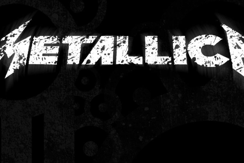 2048x2048 Wallpaper metallica, sign, letters, background, font