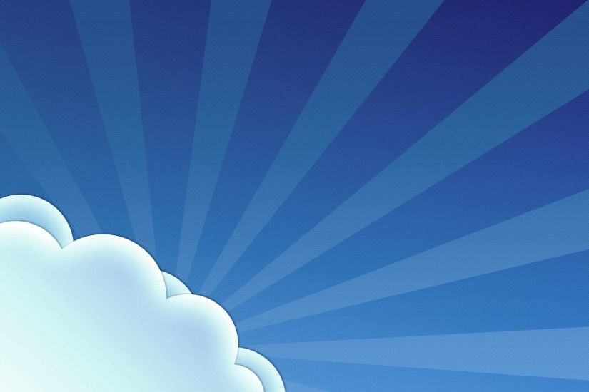1920x1080 Vector blue sky and white clouds desktop backgrounds wide  wallpapers:1280x800,1440x900,