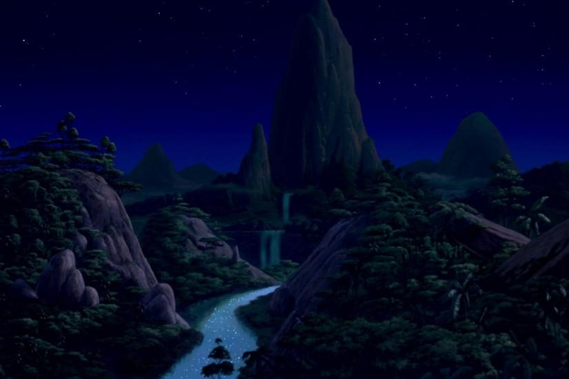 King · The Lion King background art