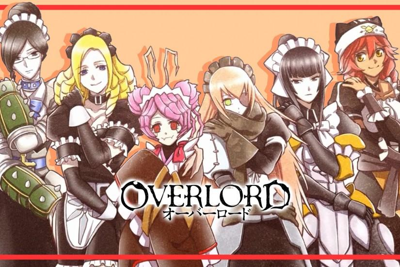 Anime Overlord Girls Character Wallpaper HD #2484
