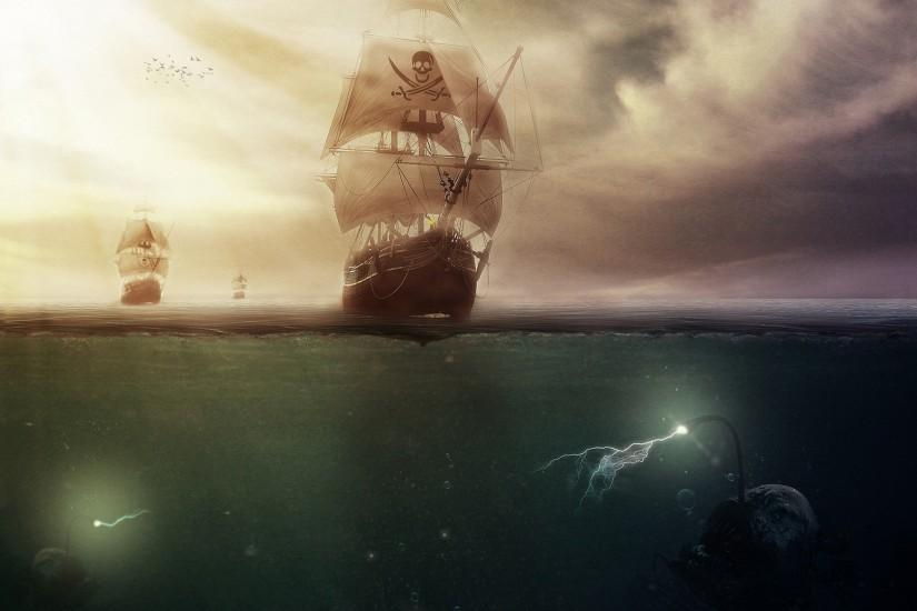 HQFX Sea Pirate Wallpapers | Background ID:55676211