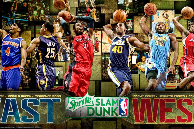 2013 NBA Slam Dunk Contest 2560×1440 Wallpaper