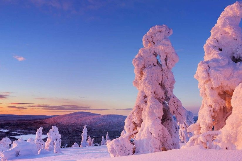 Lapland Finland Desktop Wallpaper