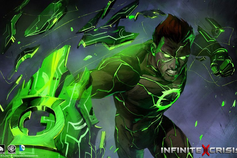Pictures Heroes comics infinite crisis, Green Lantern Fantasy Games  1920x1200