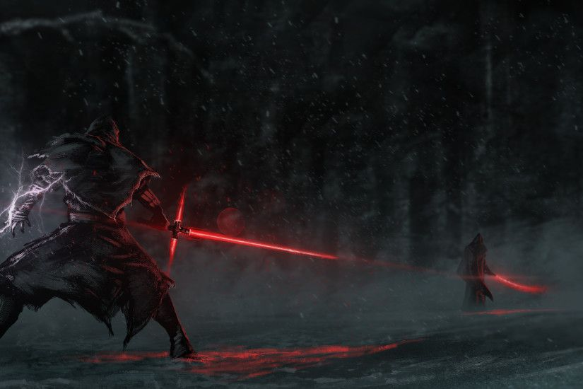 Movie Star Wars Episode VII: The Force Awakens Star Wars Lightsaber Kylo  Ren Wallpaper