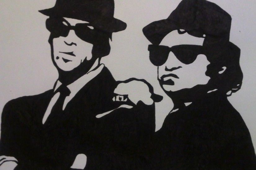 the blues brothers image widescreen retina imac, 394 kB - Burns Jacobson