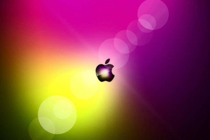 3840x2160 Wallpaper flashing, colorful, bright, apple, mac