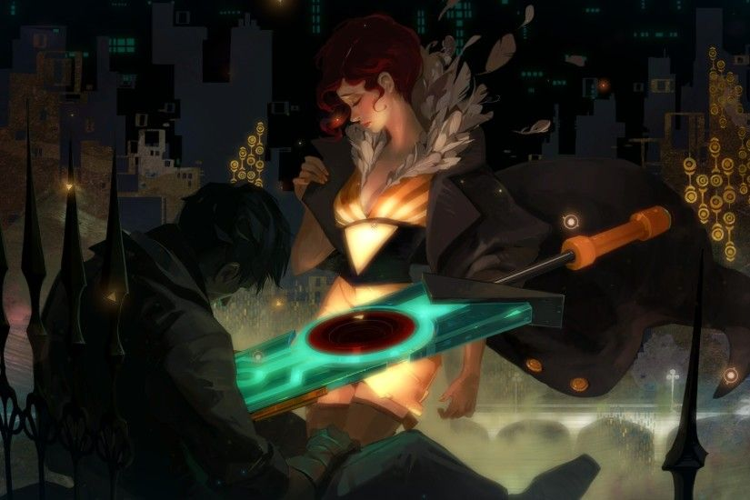 Transistor, Red (Transistor), Video Games Wallpapers HD / Desktop and  Mobile Backgrounds