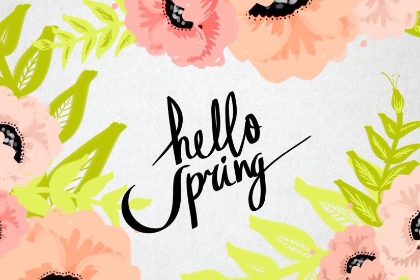 5 Computer Backgrounds for Spring!