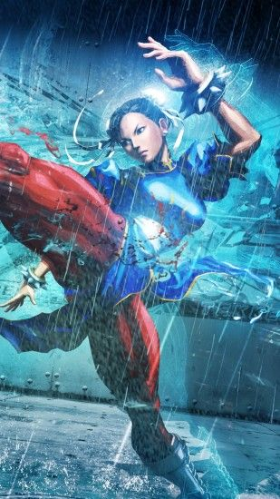 1440x2560 Wallpaper street fighter x tekken, girl, chun-li, legs, fighter