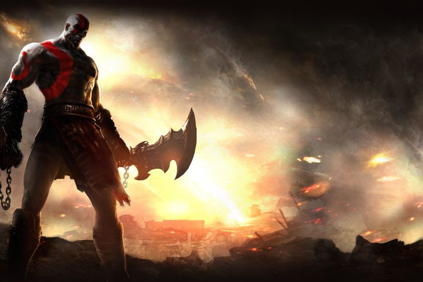 God of War HD Wallpaper 1920x1080