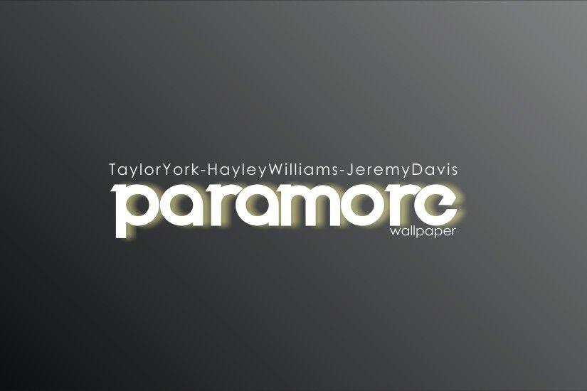 ... paramore wallpaper black and white by L-Edogawa