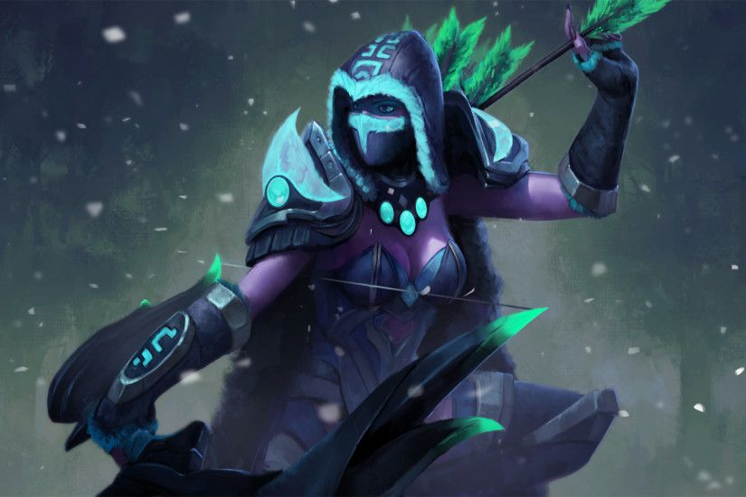 Beautiful Dota 2 Drow Ranger Archers Wallpapers Hd Desktop and Mobile