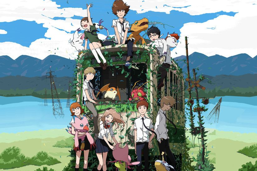 HD Wallpaper Anime Digimon Adventure Tri