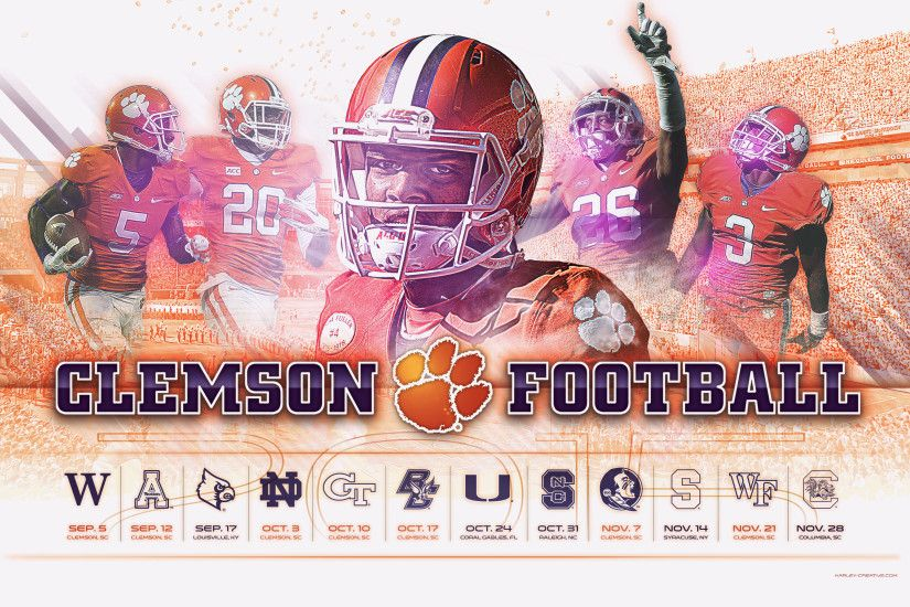 ... Fantastic Clemson Football Wallpaper HD Wallpapers Of Football Full HD  1080p Desktop Backgrounds For PC Mac
