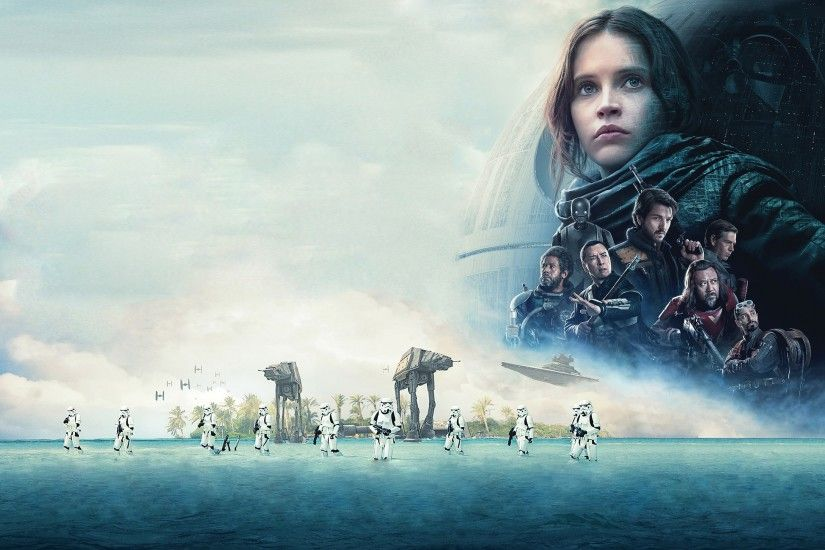 Movie - Rogue One: A Star Wars Story Stormtrooper AT-AT Walker Felicity  Jones