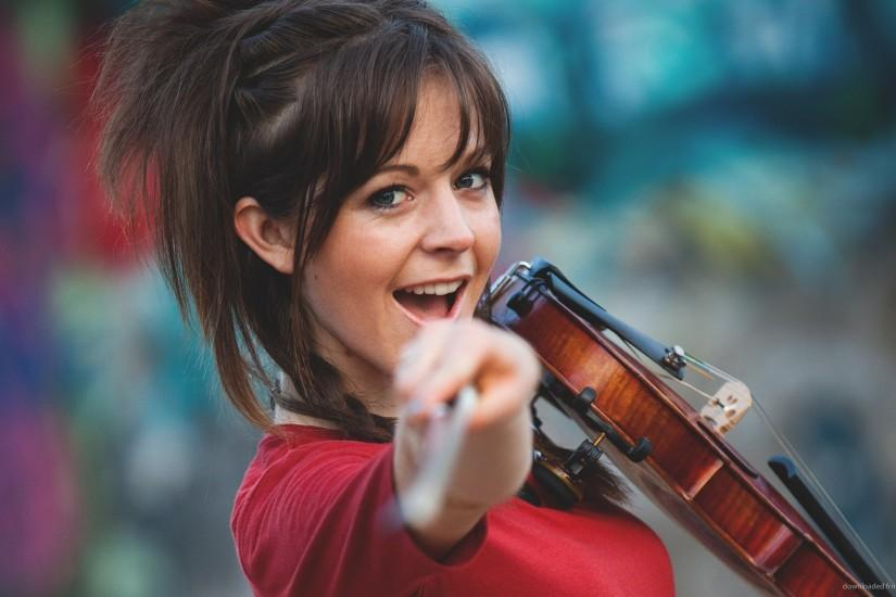 HD Lindsey Stirling Hey You wallpaper