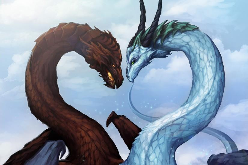Dragon Love wallpaper from Dragons wallpapers