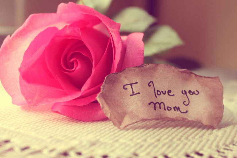 I love you mom, mothers day background #2303