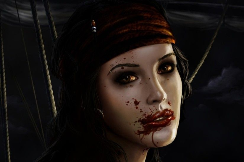 Vampire wallpaper desktop bluehorror high resolution hd images pirate backgrounds fantasy voltagebd Image collections