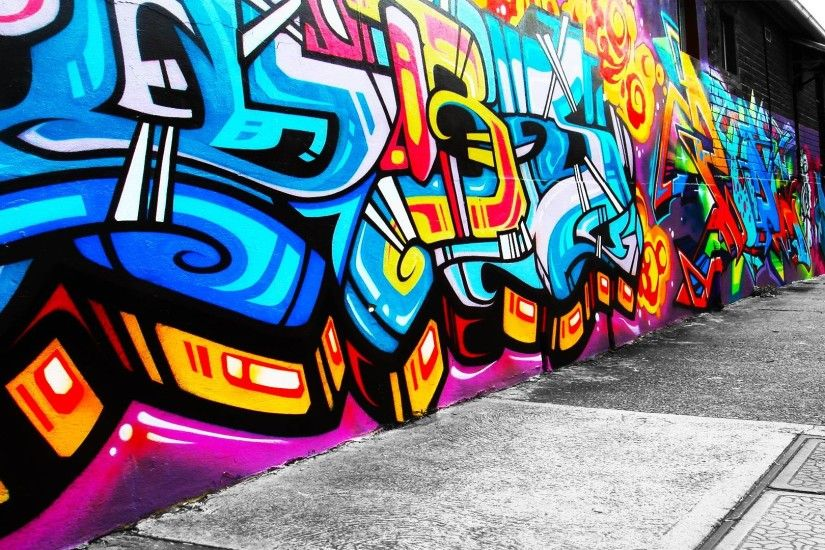 Graffiti Wall Full Wallpaper HD Graffiti Wall Wallpaper High .
