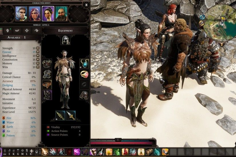 Smoother (Female) Elf Skin at Divinity: Original Sin 2 Nexus - Mods and  community