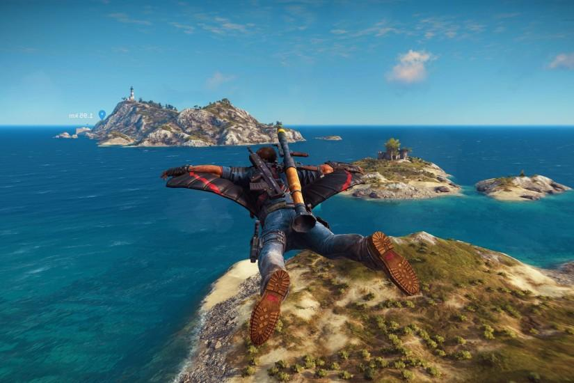 Related Wallpapers. Just Cause 3 Flying Suit