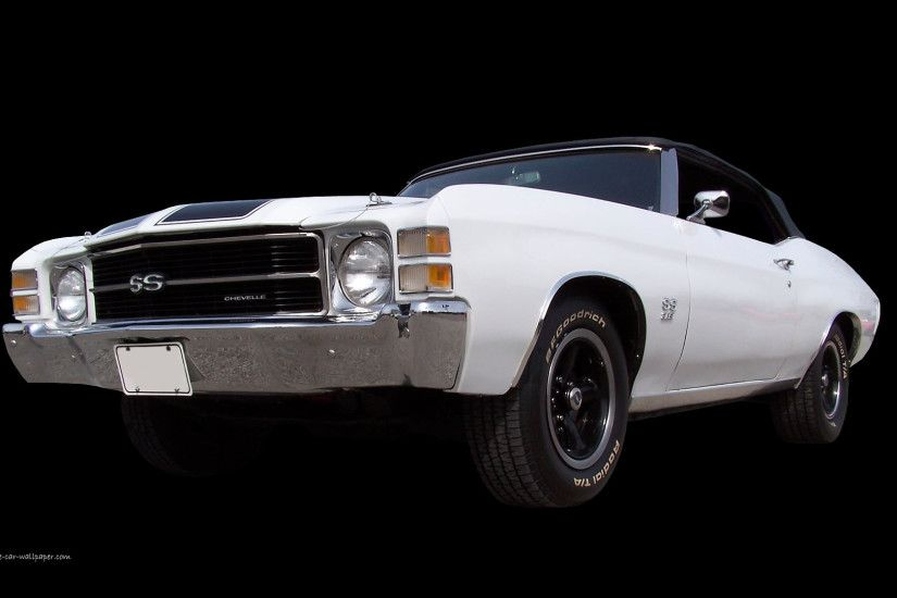 1971 Chevelle SS - White Convertible | 1920_07