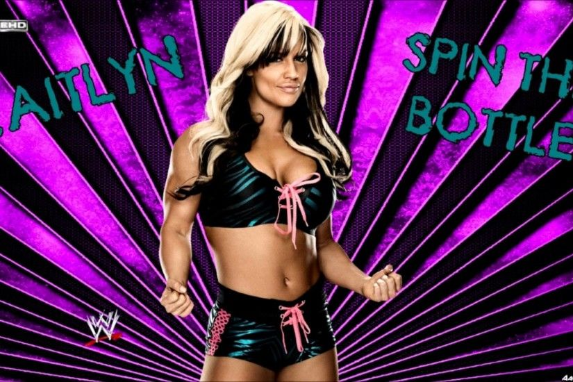 "WWE Kaitlyn 3rd Theme Song ""Spin The Bottle"" [WWE Edit] Arena Edit +  Download Linká´´á´° - YouTube"