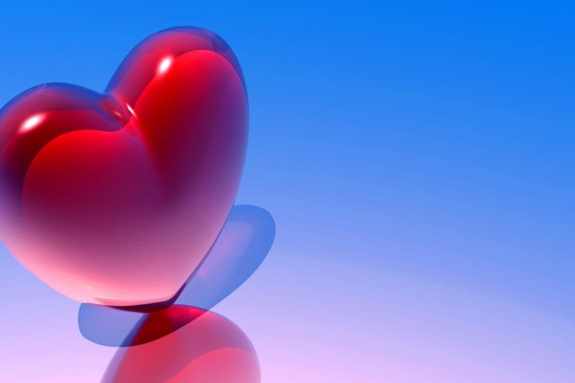 3840x2160 Wallpaper heart, love, background