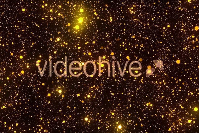 Motion Graphics - Gold Sparkles Glitter Particles Background Animation  Backdrop | VideoHive