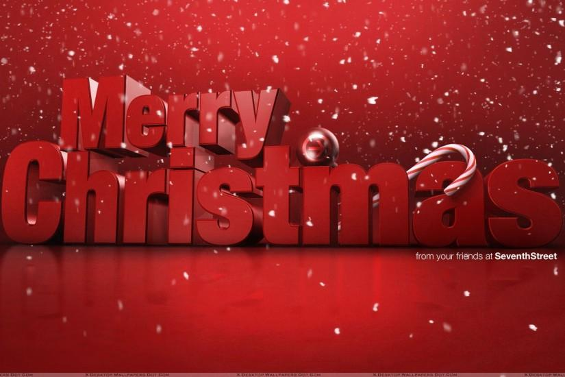 Merry Christmas And Red Background 15 Mar 2017