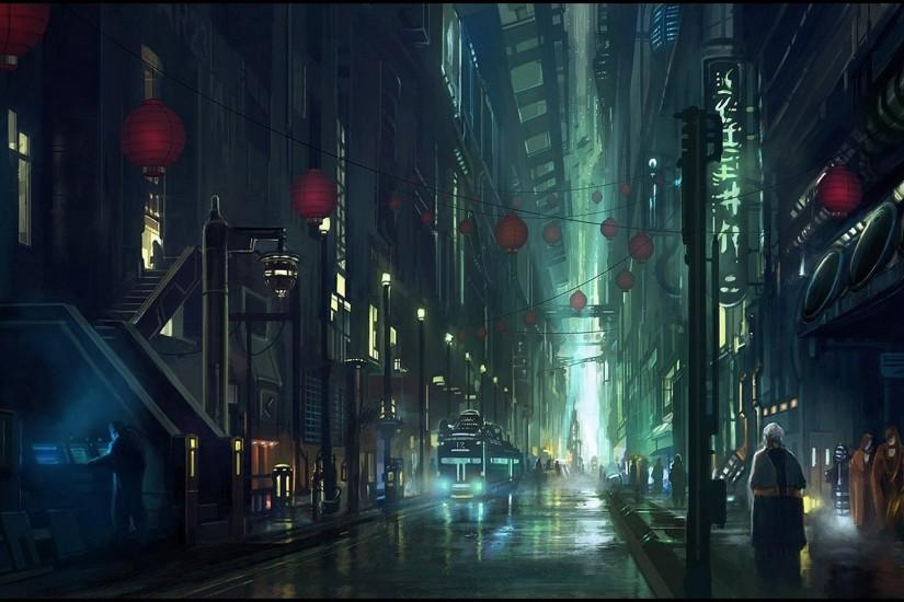 empty city street background - Google Search