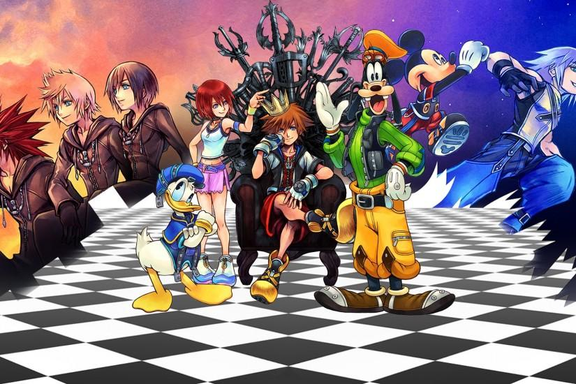 Kingdom Hearts: Unchained Chi , un spin-off del esperadísimo Kingdom .