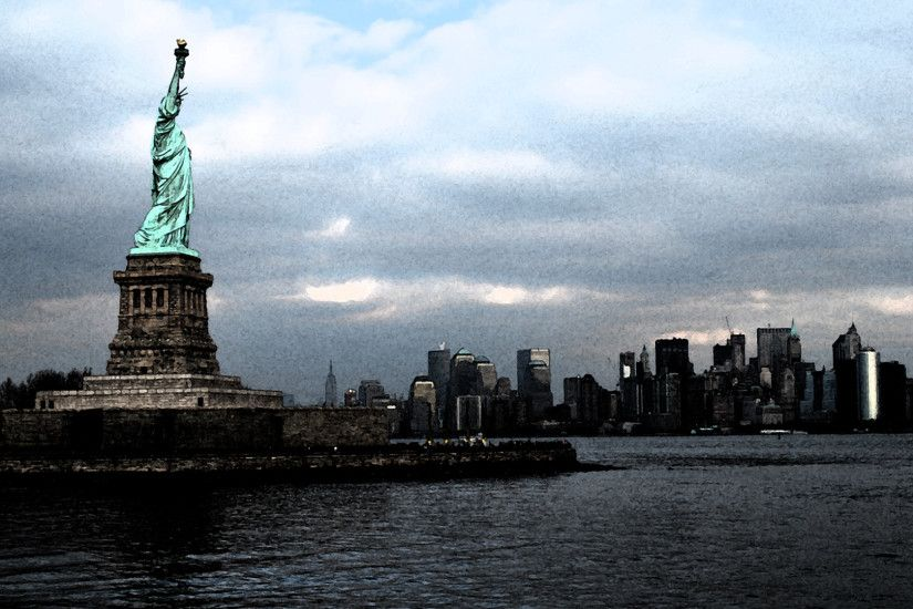 Statue Of Liberty Sculpture Wallpaper