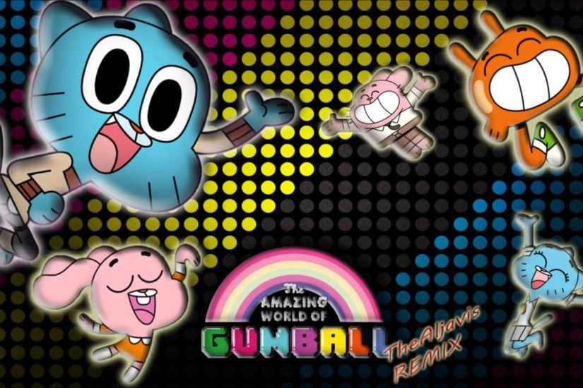 The Amazing World of Gumball Opening Theme (TheAljavis Remix) - YouTube