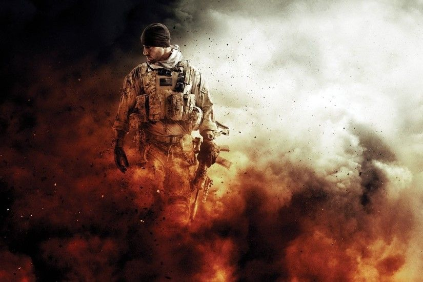 soldier, Gun, USA, Medal of Honor Warfighter, Spec ops Wallpapers HD /  Desktop and Mobile Backgrounds