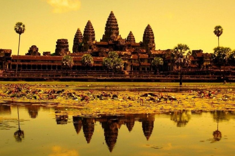 Angkor Wat Wallpapers Wide