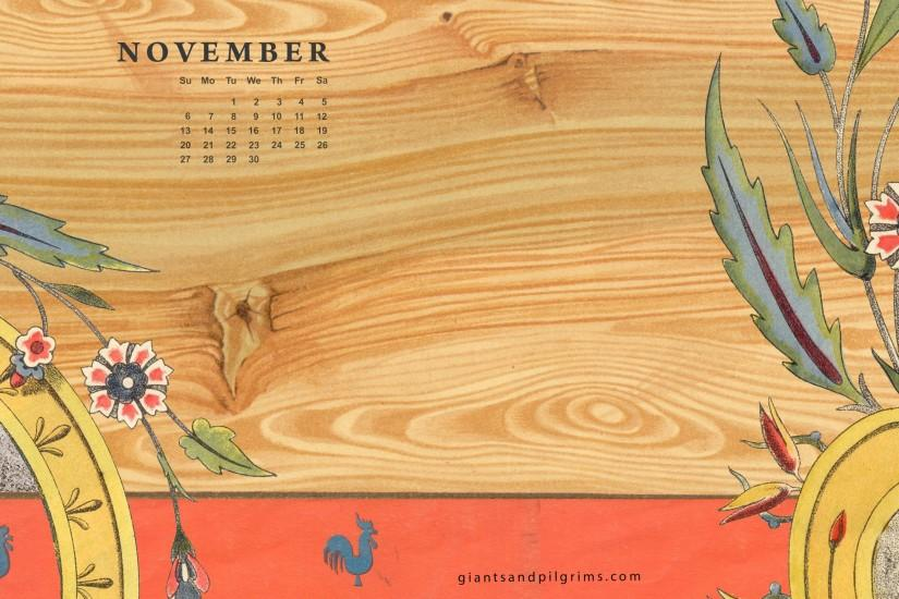 Calendar Live Wallpaper : November background ·① download free awesome high