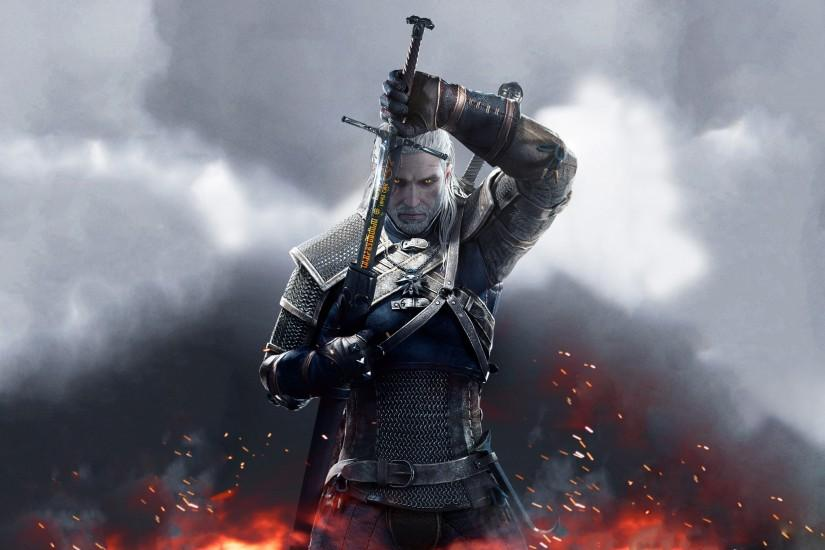 top witcher wallpaper 3840x2160 lockscreen
