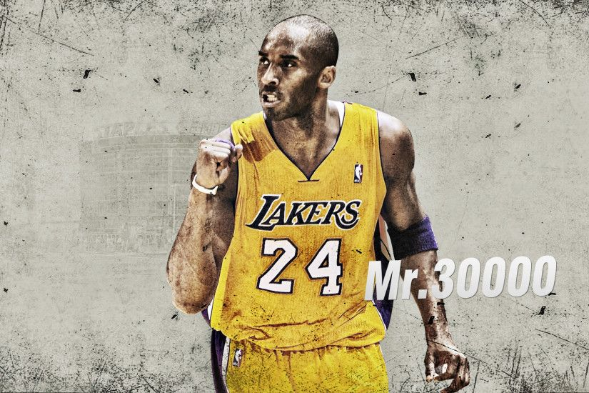Kobe Bryant Dunks Wallpaper Backgrounds Kobe Bryant 'Mr.30000' Wallpaper ...