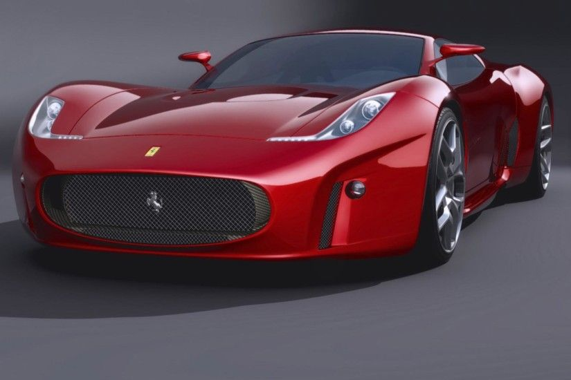 Top Ferrari Concept Wallpaper