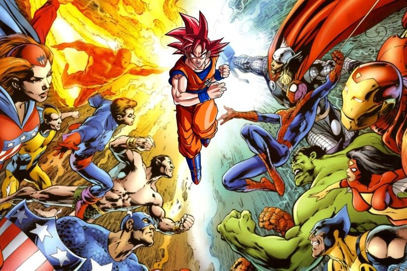 Rate Your Characters Top 88 - DC Comics and Marvel Super Heroes and Dragon  Ball Z / GT (DBZ) = Anime - YouTube